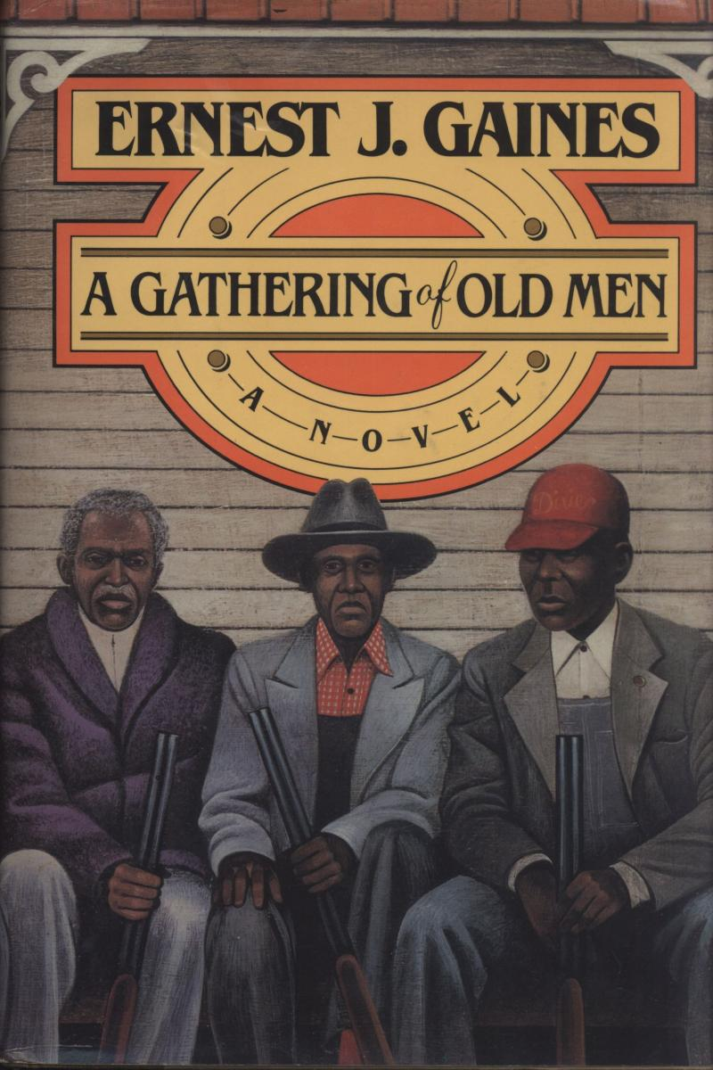 A Gathering of Old Men Book Cover