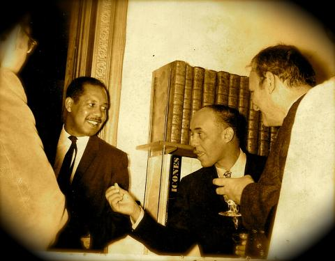 Ernest Gaines and Ralph Ellison
